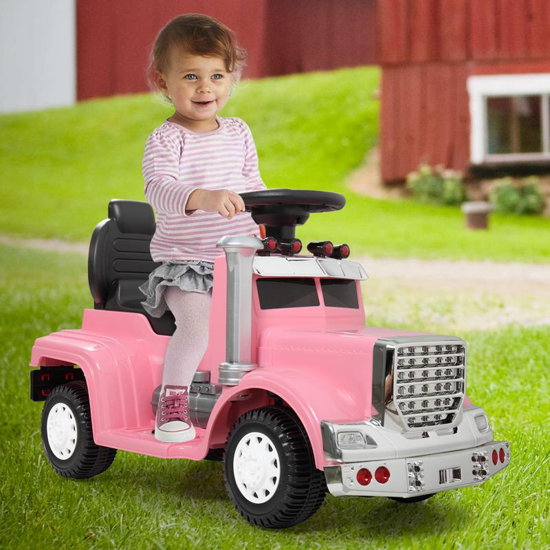 Push Riding Toys for Toddlers, Pink kids push ride on car for toddler pink 10