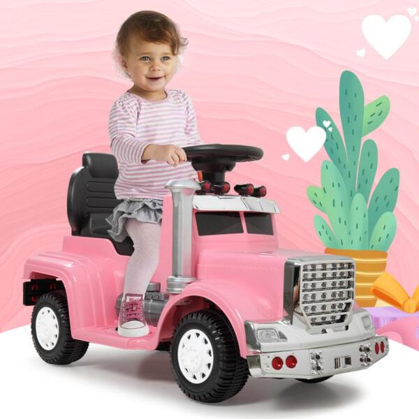 Push Riding Toys for Toddlers, Pink kids push ride on car for toddler pink 15
