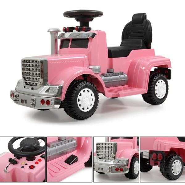 Push Riding Toys for Toddlers, Pink kids push ride on car for toddler pink 17 2
