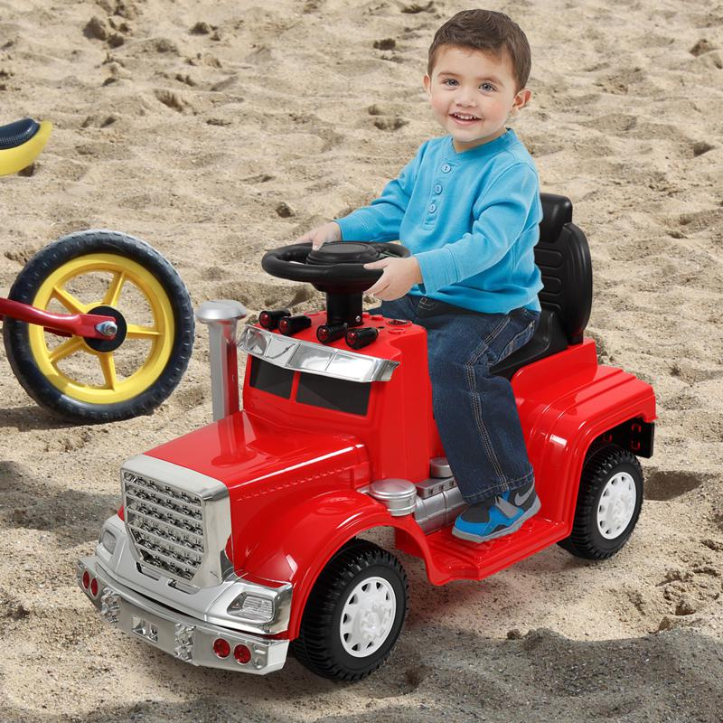 Push Riding Toys for Toddlers, Red kids push ride on car for toddler red 13