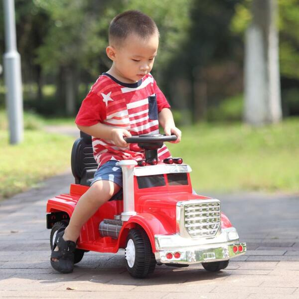 good ride-on toy makes kids happy