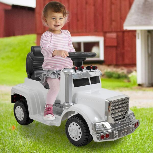 Push Riding Toys for Toddlers, White kids push ride on car for toddler white 10