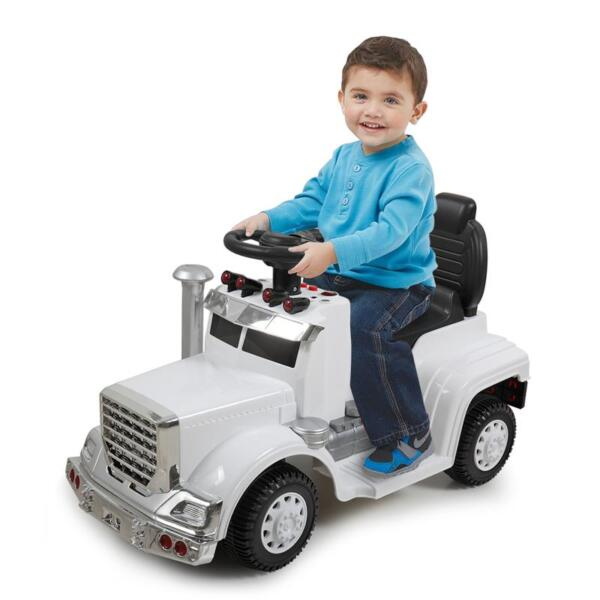 Push Riding Toys for Toddlers, White kids push ride on car for toddler white 11