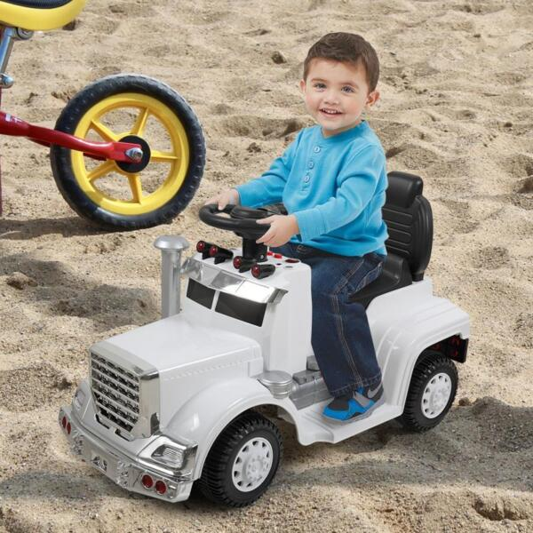 Push Riding Toys for Toddlers, White kids push ride on car for toddler white 13