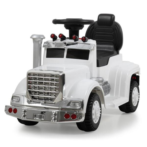 Push Riding Toys for Toddlers, White kids push ride on car for toddler white 3