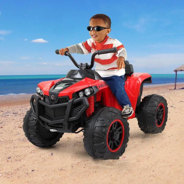 Kids Ride On ATV, Red kids ride on atv white 11 1