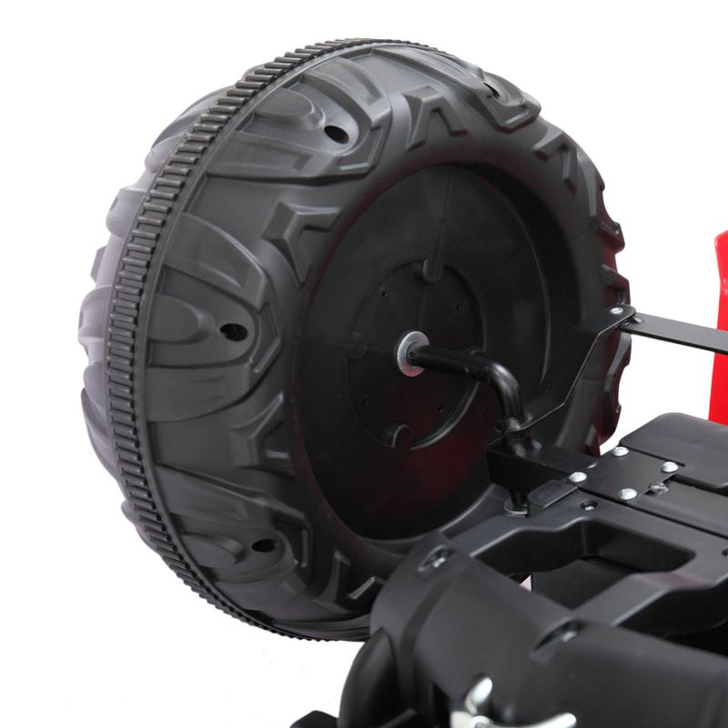 It's not so difficult to repair ride on car tires