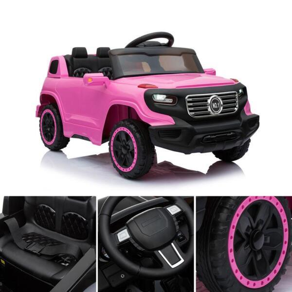 Kids Ride On Car 6V Racing Vehicle, Pink kids ride on car 6v racing vehicle pink 14