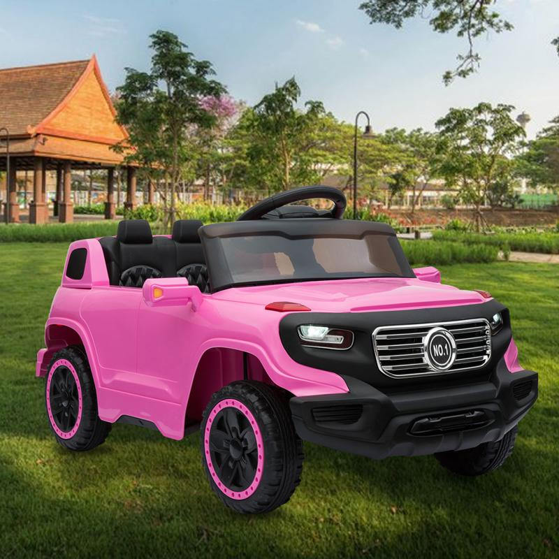 6V Ride On Suv Toy with Remote for Kids kids ride on car 6v racing vehicle pink 15 1
