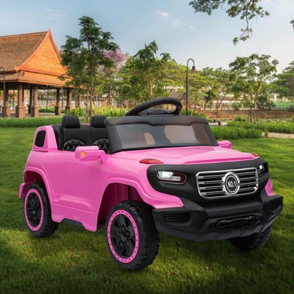 Kids Ride On Car 6V Racing Vehicle, Pink kids ride on car 6v racing vehicle pink 15