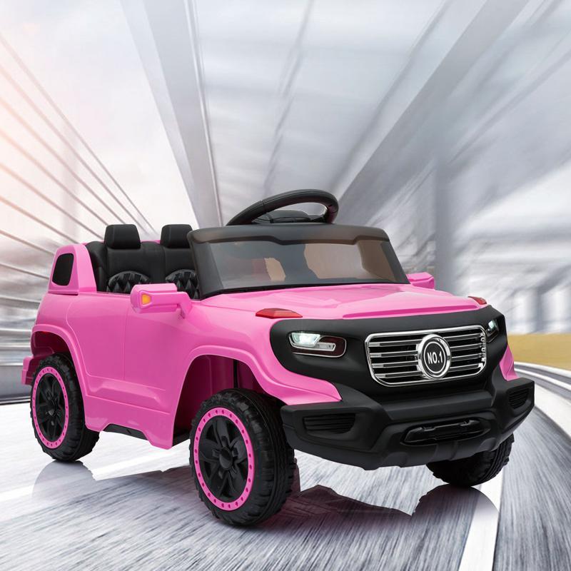 6V Ride On Suv Toy with Remote for Kids kids ride on car 6v racing vehicle pink 17 1