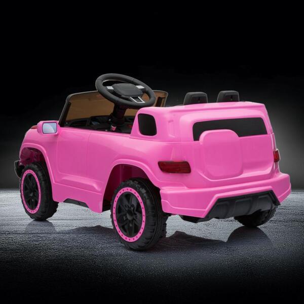 Kids Ride On Car 6V Racing Vehicle, Pink kids ride on car 6v racing vehicle pink 19 1