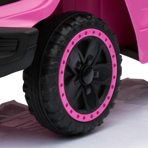 Kids Ride On Car 6V Racing Vehicle, Pink kids ride on car 6v racing vehicle pink 3
