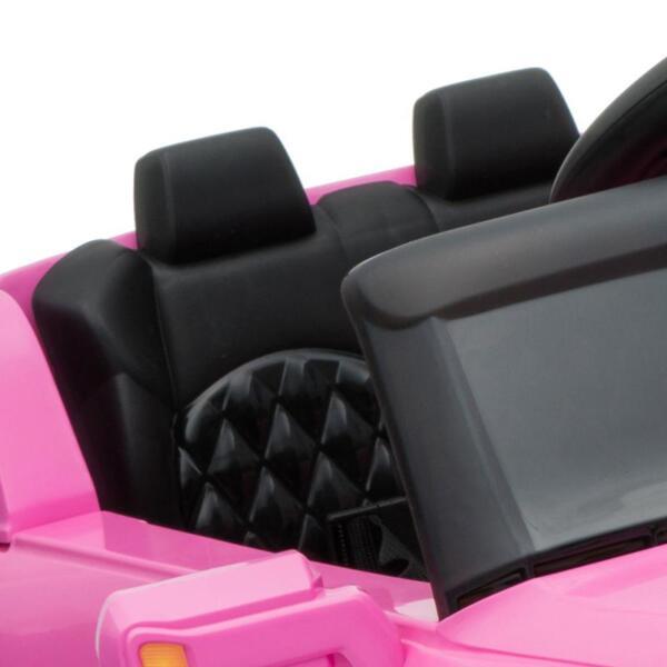 Kids Ride On Car 6V Racing Vehicle, Pink kids ride on car 6v racing vehicle pink 5