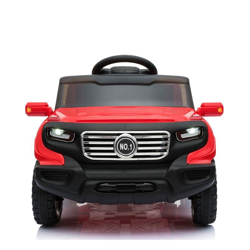 Electric Ride On Power Cars For Kids with Music kids ride on car 6v racing vehicle red 0 1