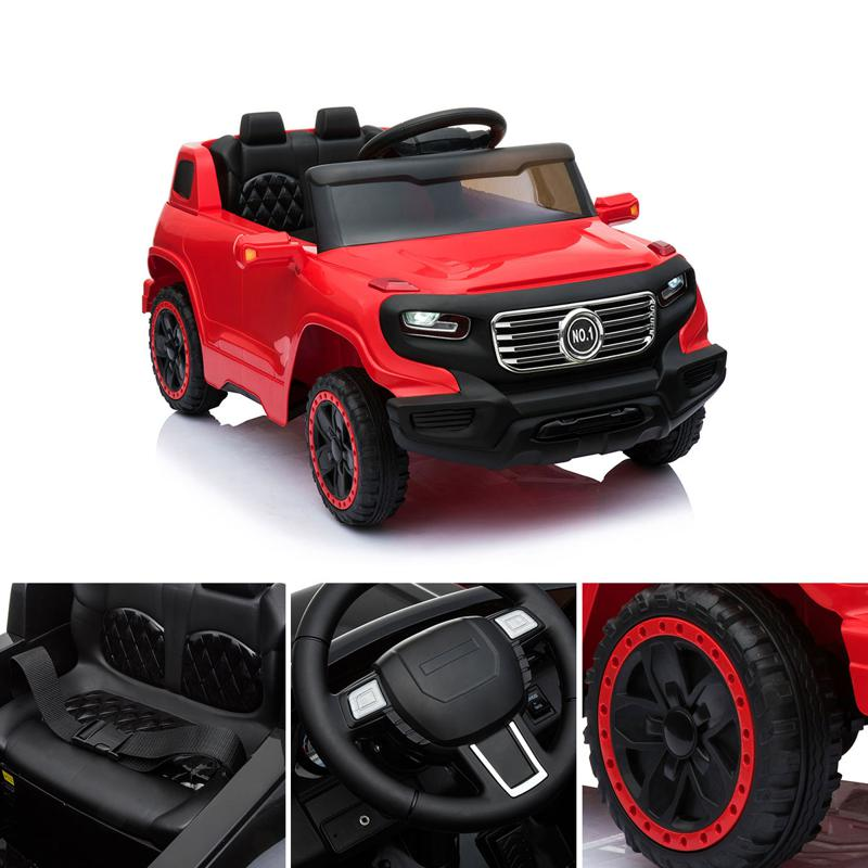 Electric Ride On Power Cars For Kids with Music kids ride on car 6v racing vehicle red 13 1