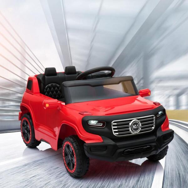 Kids Ride On Car 6V Racing Vehicle, Red kids ride on car 6v racing vehicle red 15