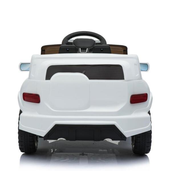 Kids Ride On Car 6V Racing Vehicle, White kids ride on car 6v racing vehicle white 10