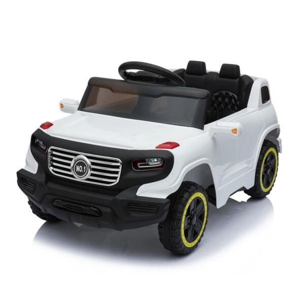 Kids Ride On Car 6V Racing Vehicle, White kids ride on car 6v racing vehicle white 12