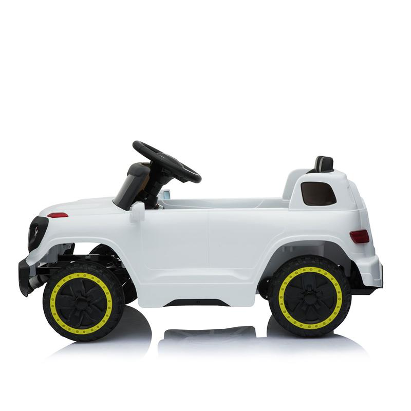 6V Electric Kid's SUV Toy with Remote, White kids ride on car 6v racing vehicle white 8 1