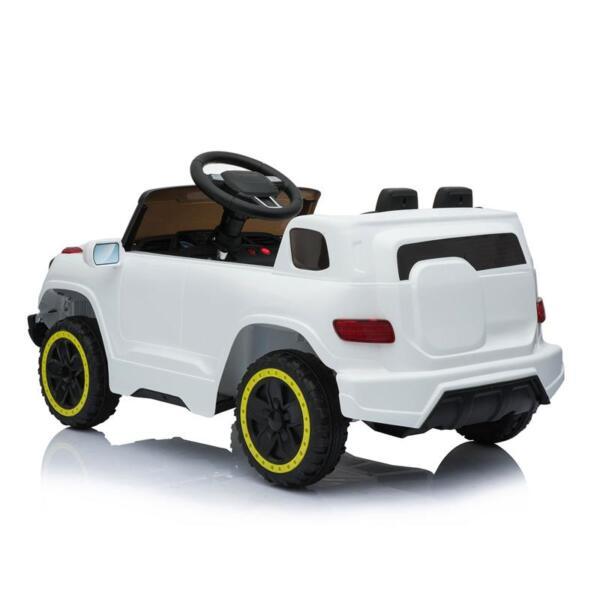 Kids Ride On Car 6V Racing Vehicle, White kids ride on car 6v racing vehicle white 9