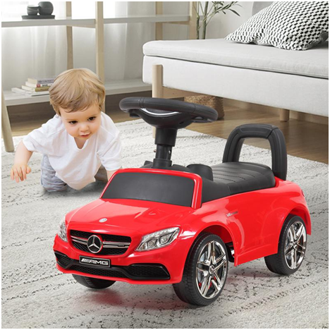 Kids ride on car is a great option as gift
