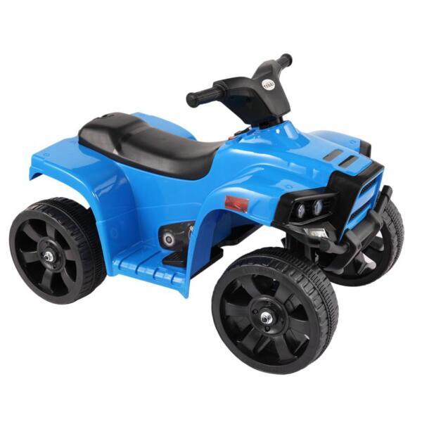 Four Wheeler Electirc Ride On Quad ATV For Kids, Blue kids ride on car atv 4 wheels battery powered blue 11