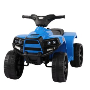 Home kids ride on car atv 4 wheels battery powered blue 17 kids electric cars