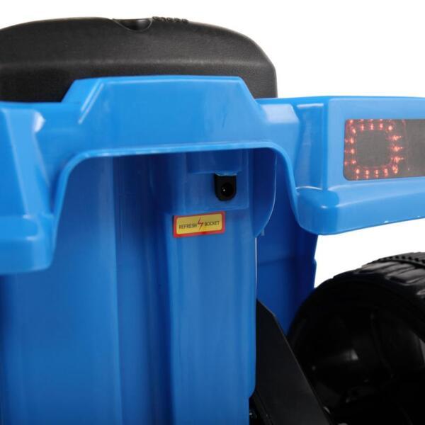 Four Wheeler Electirc Ride On Quad ATV For Kids, Blue kids ride on car atv 4 wheels battery powered blue 21