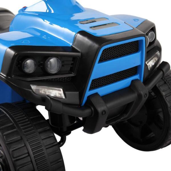 Four Wheeler Electirc Ride On Quad ATV For Kids, Blue kids ride on car atv 4 wheels battery powered blue 24