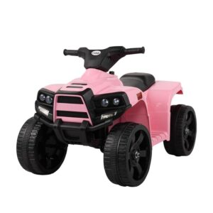 Home kids ride on car atv 4 wheels battery powered pink 0 kids electric cars