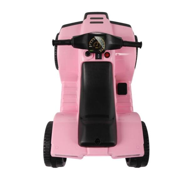 Four Wheeler Electirc Ride On Quad ATV For Kids, Pink kids ride on car atv 4 wheels battery powered pink 20