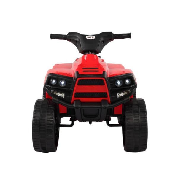 Kids Ride On Car ATV 4 Wheels Battery Powered, Red kids ride on car atv 4 wheels battery powered red 0