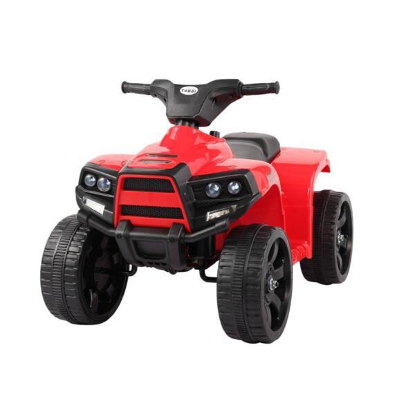 Kids Ride On Car ATV 4 Wheels Battery Powered, Red kids ride on car atv 4 wheels battery powered red 11