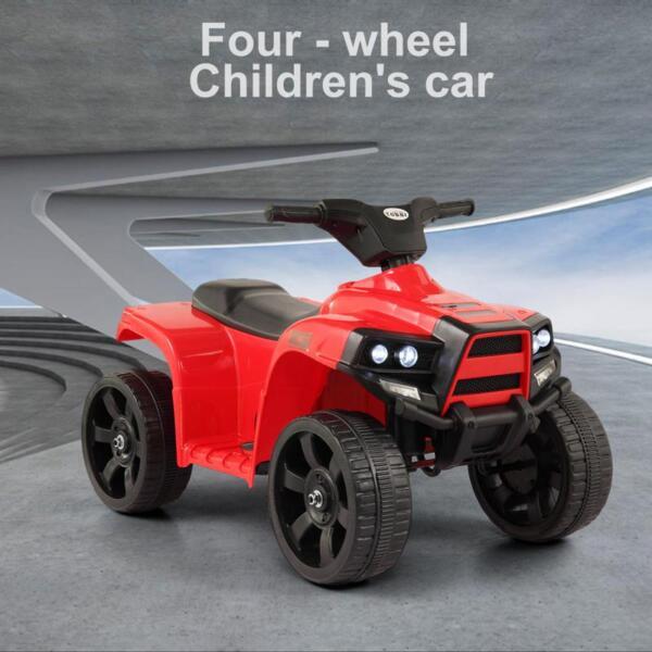 Kids Ride On Car ATV 4 Wheels Battery Powered, Red kids ride on car atv 4 wheels battery powered red 8 1
