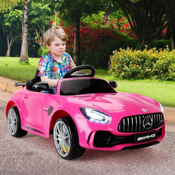 Kids Ride on Car, Benz Licensed AMG GTR, Pink kids ride on car benz licensed amg gtr pink 14