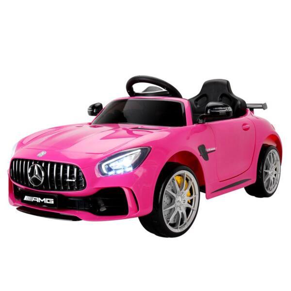 Kids Ride on Car, Benz Licensed AMG GTR, Pink kids ride on car benz licensed amg gtr pink 2 1