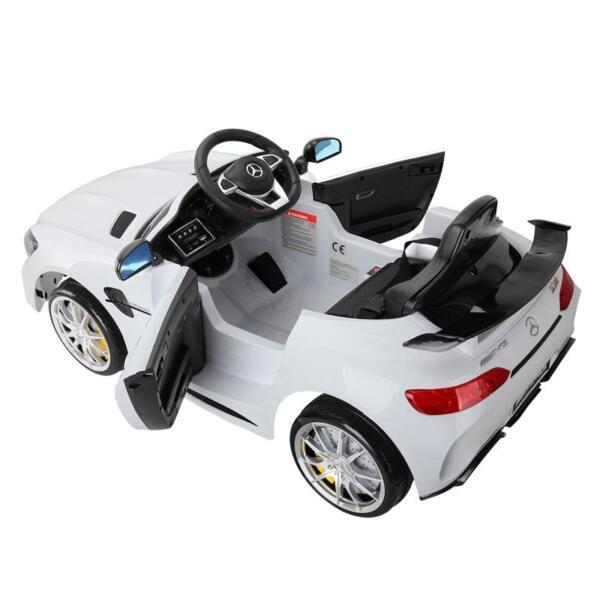 Kids Ride on Car, Benz Licensed AMG GTR, White kids ride on car benz licensed amg gtr white 10