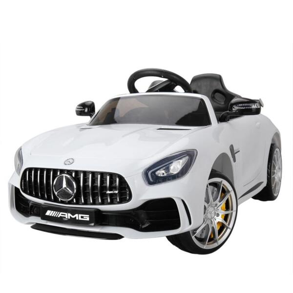 Kids Ride on Car, Benz Licensed AMG GTR, White kids ride on car benz licensed amg gtr white 12