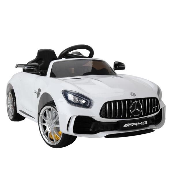 Kids Ride on Car, Benz Licensed AMG GTR, White kids ride on car benz licensed amg gtr white 13