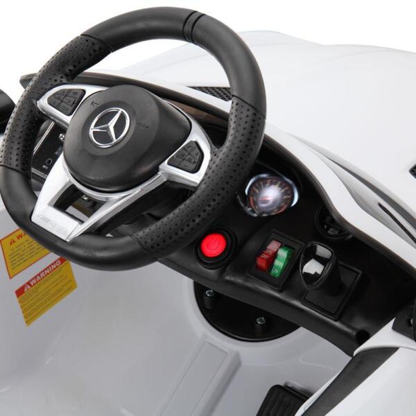 Kids Ride on Car, Benz Licensed AMG GTR, White kids ride on car benz licensed amg gtr white 21