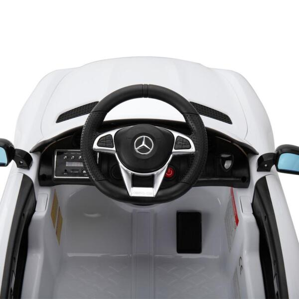 Kids Ride on Car, Benz Licensed AMG GTR, White kids ride on car benz licensed amg gtr white 23