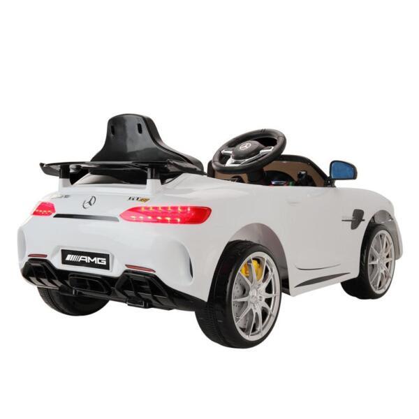 Kids Ride on Car, Benz Licensed AMG GTR, White kids ride on car benz licensed amg gtr white 9