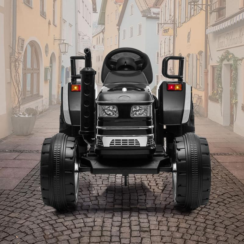 Buying a Ride On Tractor for Your Child Has 8 Advantages kids ride on tractor with remote control black 19 1 ride on tractor Kids Ride-on Car Insider