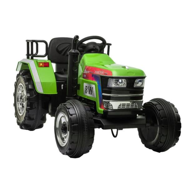 Kids Ride On Tractor with Remote Control, Green kids ride on tractor with remote control green 1