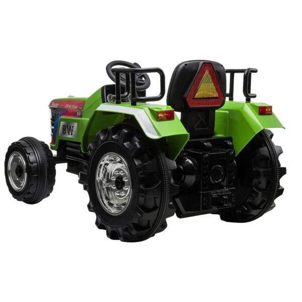 Kids Ride On Tractor with Remote Control, Green kids ride on tractor with remote control green 5