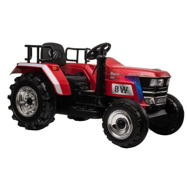12V Kids Ride On Tractor with Remote Control for 3-6 Years, Red kids ride on tractor with remote control red 2