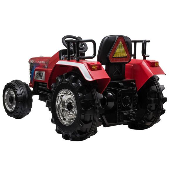 12V Kids Ride On Tractor with Remote Control for 3-6 Years, Red kids ride on tractor with remote control red 7
