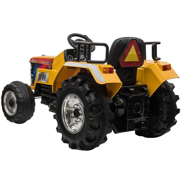 12V Kids Ride On Tractor with Remote Control for 3-6 Years, Yellow kids ride on tractor with remote control yellow 7