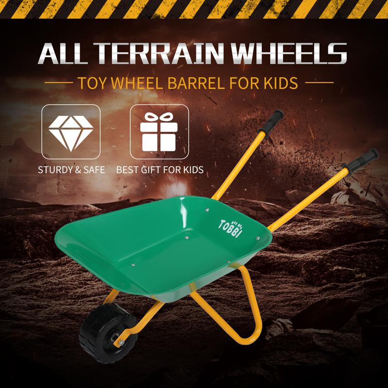 Kids WheelBarrows with Garden Carts, Green kids wheel barrows and garden carts green 15 1